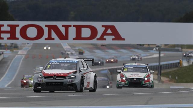 WTCC - Muller claims first win with Citroën