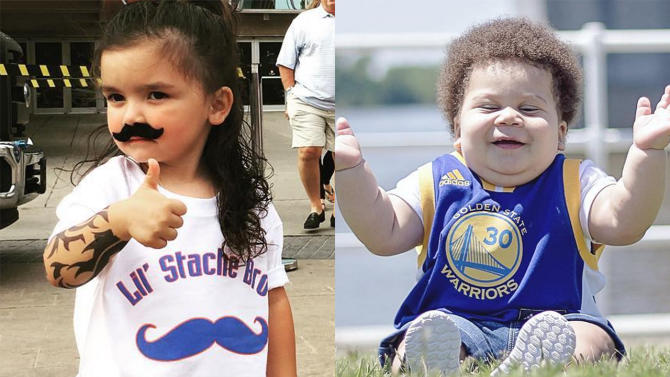 Mustard Minute: Who will win 'Thunder vs Warriors - Child Edition': Little Steven Adams or Stuff Cur