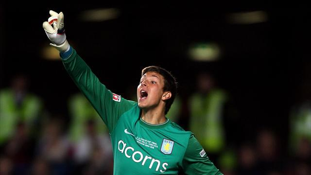 League Two - Burton sign promising Villa keeper Siegrist
