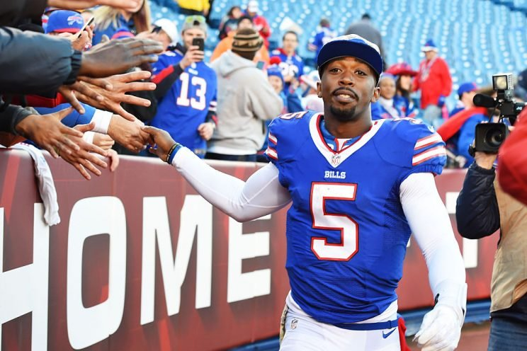 The Bills were an almost perfectly mediocre team last season, but they offer a few fun fantasy pieces, including a dual-threat QB. (Getty Images)