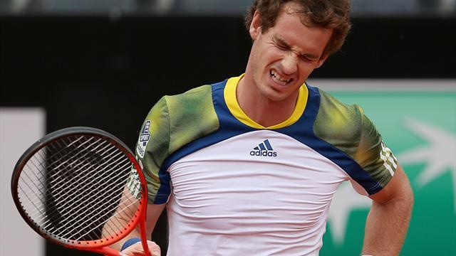 French Open - Murray 'could miss Roland Garros' after retiring in Rome