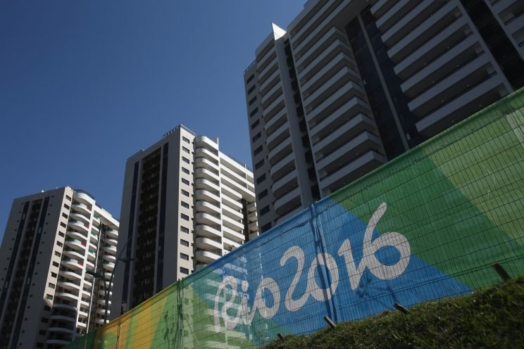 A general view of the Olympic and Paralympic Village for the 2016 Rio Olympic Games in Barra da Tijuca. (Photo by Buda Mendes/Getty Images)
