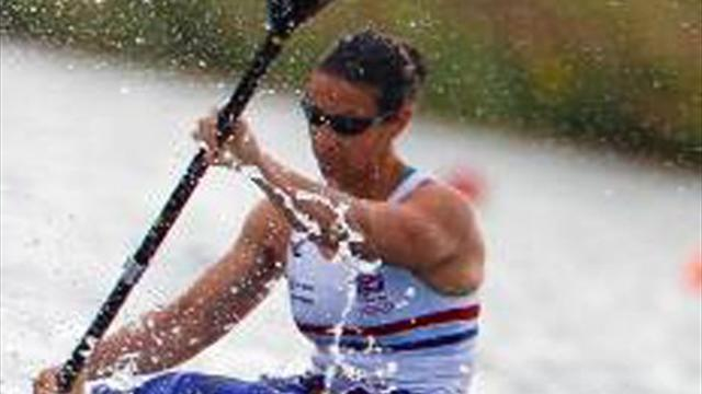 Canoeing - Sawers climbs another World Cup podium in Racice