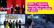 GMA 7 releases teleserye line-up for the first quarter of 2012