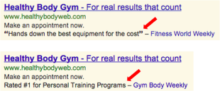 Why Online Customer Reviews Will be More Important in 2014 image healthy body gym