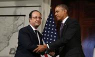 Obama Hosts Hollande In US For State Visit