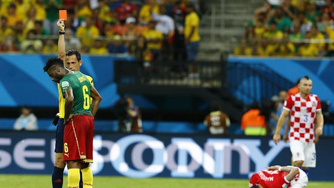 World Cup - Song: Forgive me for needless red card
