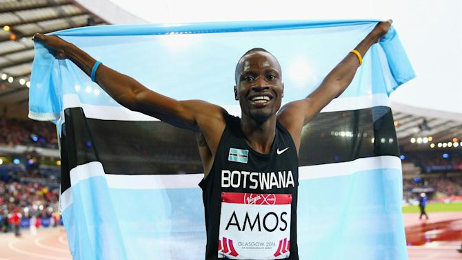 Commonwealth Games - Amos wins 800m gold to shock Olympic champion Rudisha