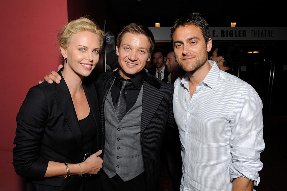 The Hurt Locker Premiere 2009 Charlize Theron Jeremy Renner Stuart Townsend