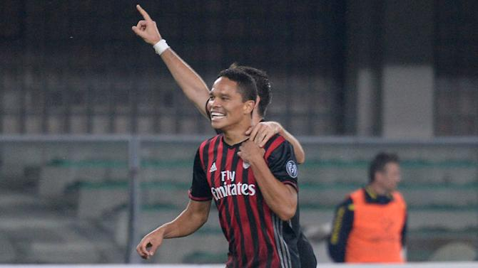 Carlos Bacca Labels Juventus Legend as 'One of the Best in History' Ahead of Weekend Clash