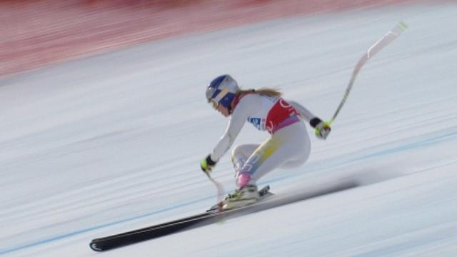 Alpine Skiing - Vonn strikes back to win St Moritz Super-G