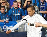 English Premier League side West Brom strengthened their forward line on Wednesday as they signed highly-rated Belgian international Yassine El Ghanassy, pictured in 2011, on a season-long loan from Belgian outfit Gent