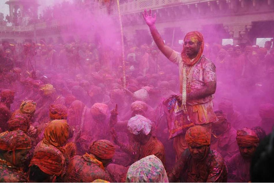 Travel India Festivals Holi Barsana
