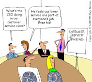 Customer Service from the C Suite to the Mail Room image CS is Everyones Job Even the CEO Low Res