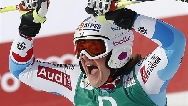 World Championships - Rolland is surprise downhill gold medallist
