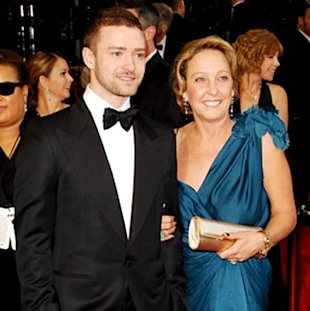 Justin Timberlake and mom