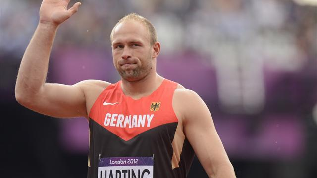 Harting claims Olympic discus title