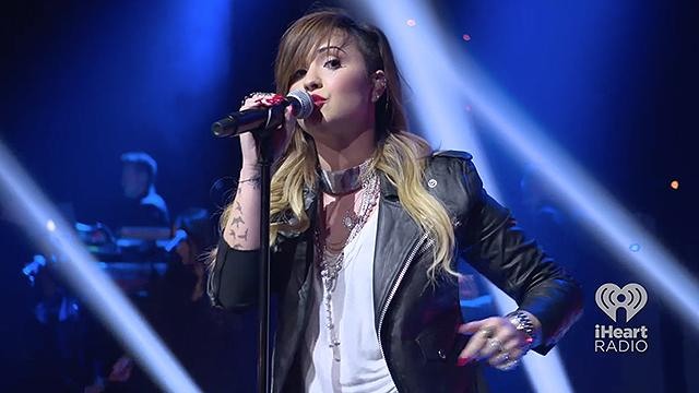 iHeartRadio Live with Demi Lovato: Heart Attack