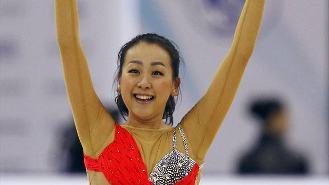 Figure Skating - Asada wins back-to-back Grand Prix Final titles