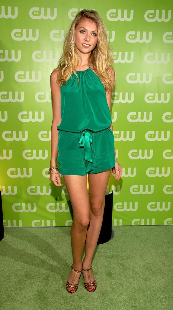 Taylor Momsen arrives at The CW TCA Party.