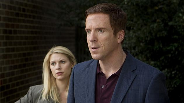 Claire Danes and Damien Lewis in 'Homeland' -- Showtime