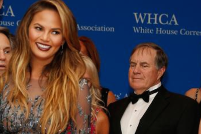 John Legend catches Bill Belichick creeping on Chrissy Teigen