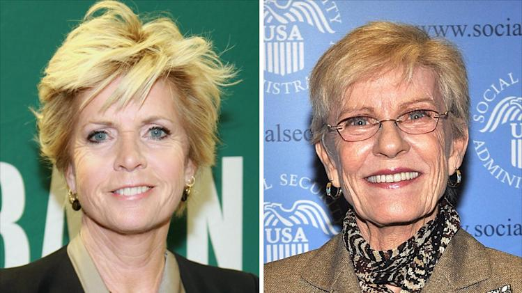 Meredith Baxter and Patty Duke on Glee