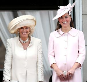 """Duchess Camilla Hopes Kate Middleton's Baby Will Be Born By """"End of the Week"""""""