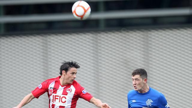 Football - Perry setback for Rangers