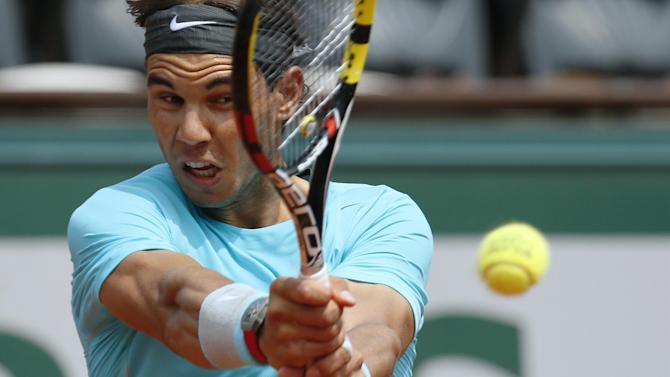 French Open - Nadal to face Ferrer in all-Spanish quarter-final