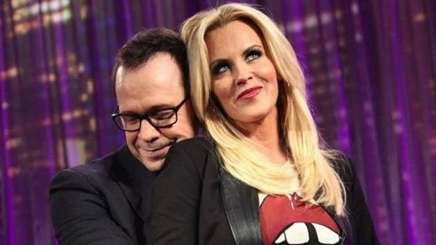 Donnie Wahlberg on Jenny McCarthy's Talk Show