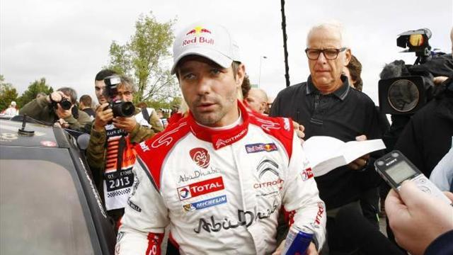 WRC - Loeb crashes out in his final rally