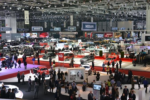 The world's best supercars and luxury models were on display at this year's Geneva Motor Show (Russell Bray)