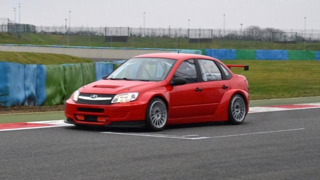 WTCC - First track test for LADA Sport Lukoil