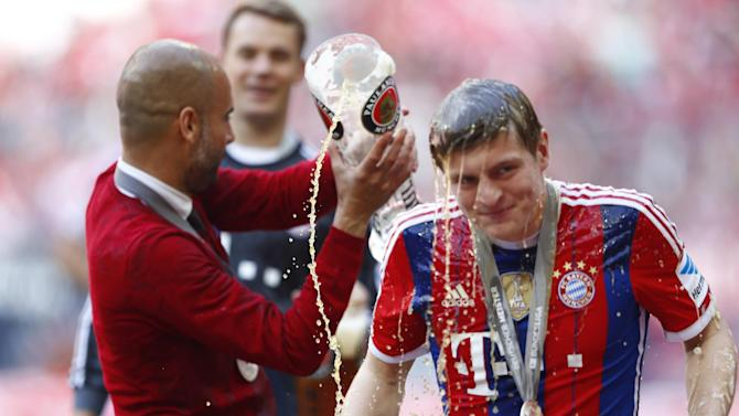 Liga - Kroos confirms he will join Real Madrid