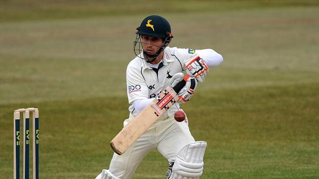 Cricket - Nottinghamshire win is Taylor-made