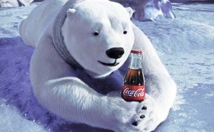 Holiday Advertising from Coca Cola image CocaCola PolarBears1