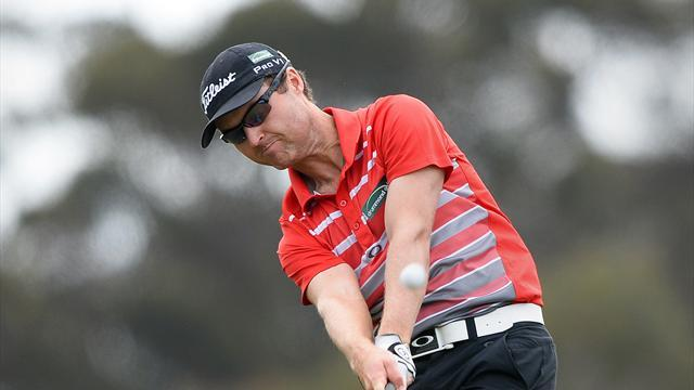 Golf - Australia's Griffin stays in hunt on Asian Tour return