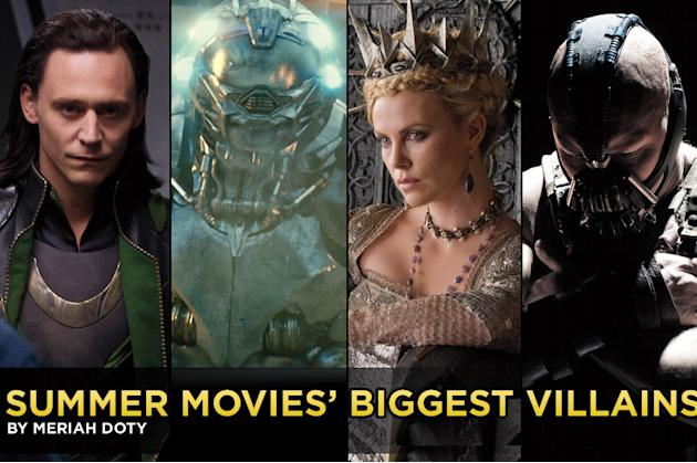 Summer Movies Biggest Villains, Title Card