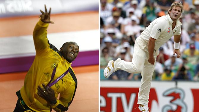 """Shane Warne to Usain Bolt: """"Come and play T20″"""