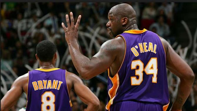 Kobe Bryant and Shaquille O'Neal - Inside the NBA's most dynamic/dysfunctional duo's feud