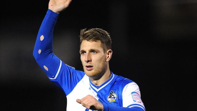 League Two - Rovers seize on Krysiak error