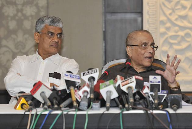 BCCI Meeting And Press Conference