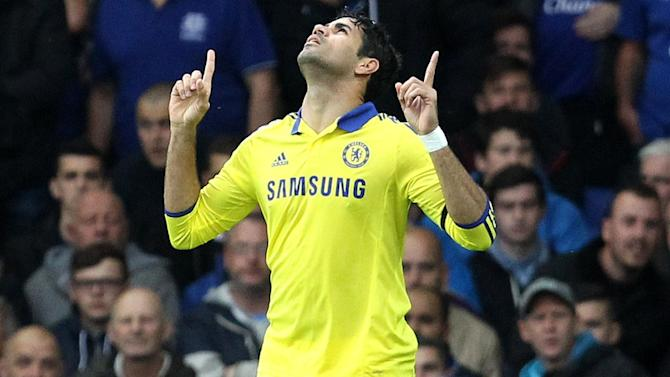 Premier League - Costa scores twice in sensational nine-goal thriller as Chelsea hammer Everton