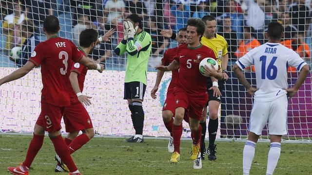 World Cup - Coentrao rescues late point for Portugal in Israel