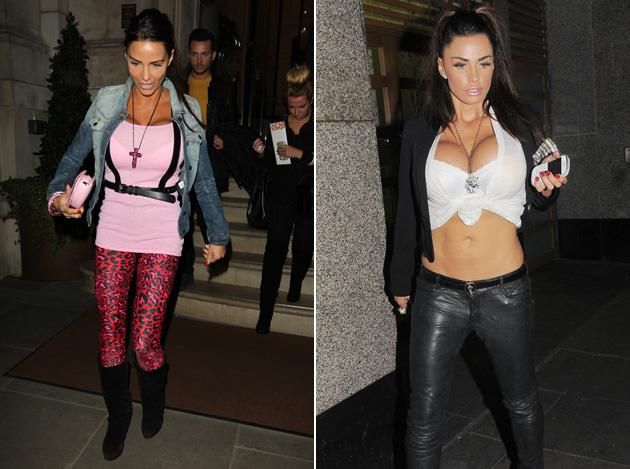 Worst dressed celebrities 2012: By her own admission, Katie Price doesn't have the best sense of style – but she doesn't care in the slightest. In fact, she seems to enjoy wearing outfits which are as