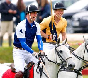 Prince William, Prince Harry Play Polo as Kate Middleton Awaits Royal Baby's Birth