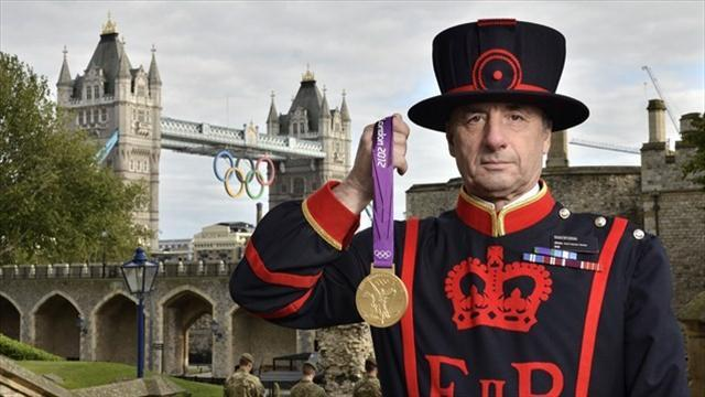 Games medals locked up for safe keeping at Tower of London