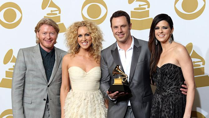 The 55th Annual GRAMMY Awards - Press Room: Phillip Sweet, Kimberly Schlapman, Jimi Westbrook and Karen Fairchild