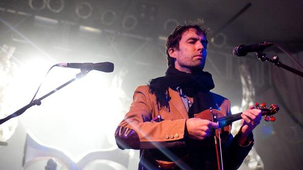 AUSTIN, TX - MARCH 14: Musician Andrew Bird performs onstage during the 2012 SXSW Music, Film   Interactive Festival at Stubb's on March 14, 2012 in Austin, Texas.